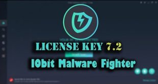 iobit malware fighter 7.2 key