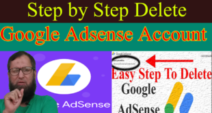 how to cancel google adsense account