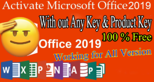 how to activate microsoft office 2019 for free,activate