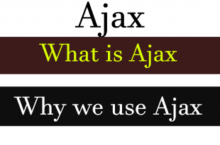 how ajax works in web technologies